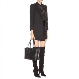 "Saint Laurent ""cat"" over the knee boots"